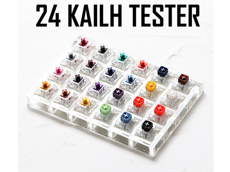 Kailh BOX White Review and Release