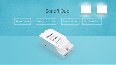 Sonoff Dual R2 2CH Wifi Switch