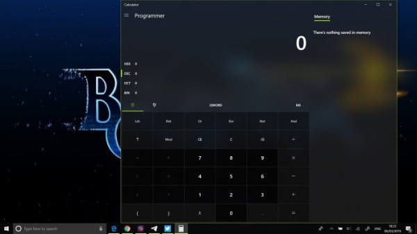 Win10 calculator gets Compact Overlay view to keep Windows always in front