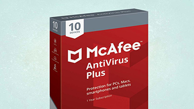 McAfee AntiVirus Plus: Good for Device