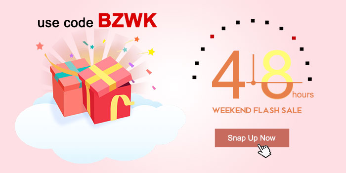 Weekend 48-hours Flash Sale