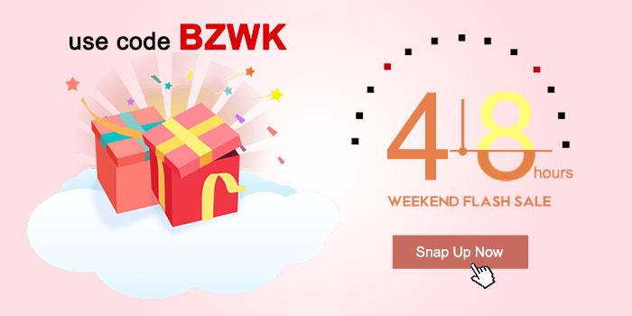 Weekend 48-hours Flash Sale