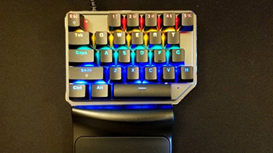 Best Single-handed Mechanical Keyboard: Motospeed K27