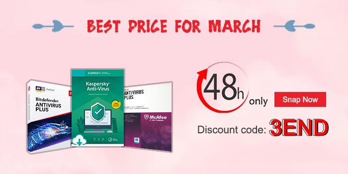 New Sale: Best price for March