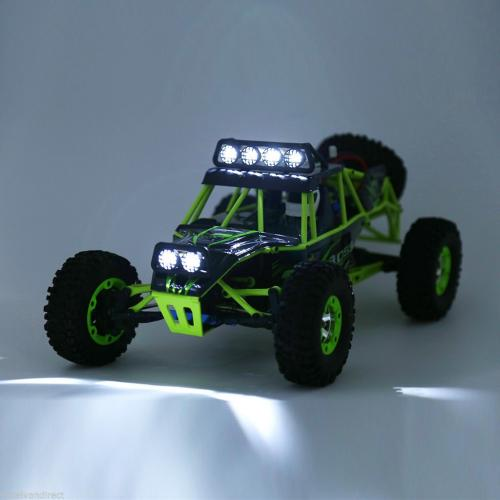 Official WLtoys 12428 2.4G 1/12 4WD Crawler RC Car With LED Light