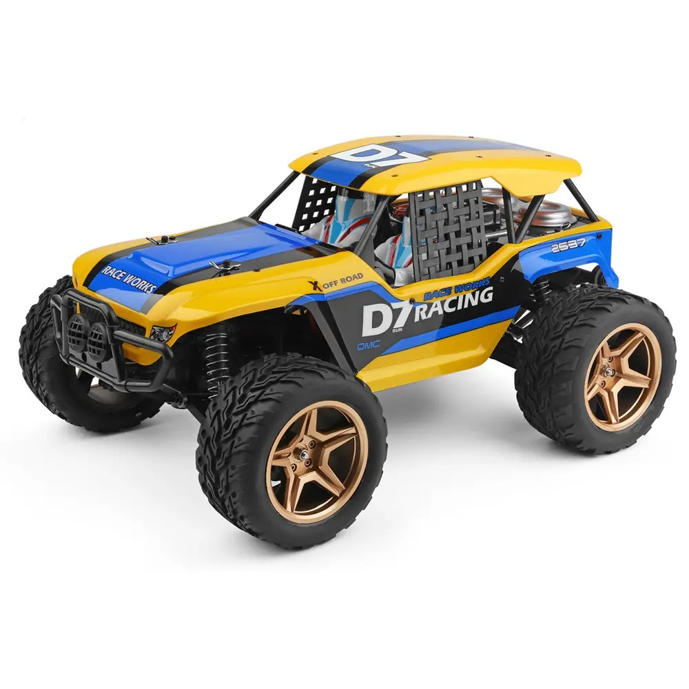 Wltoys 12402-A 4WD 1/12 2.4G RC Car Desert Baja Vehicle Models High Speed 45km/h
