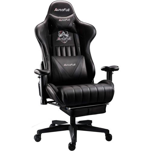 Official AutoFull Ergonomic Gaming Chair AF070DPUJ Advanced(Black)