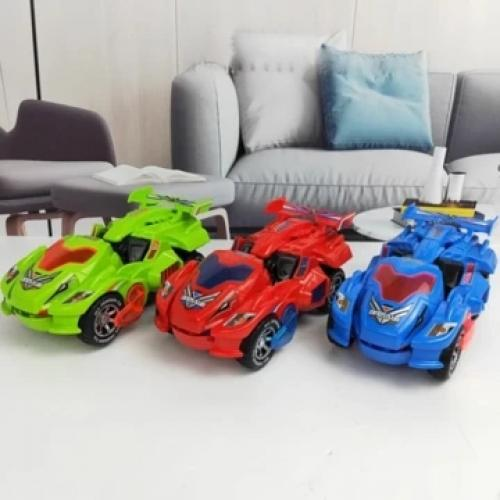 Official Transforming Dinosaur LED Car