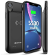 NEWDERY Wireless Charging Battery Case for iPhone XR