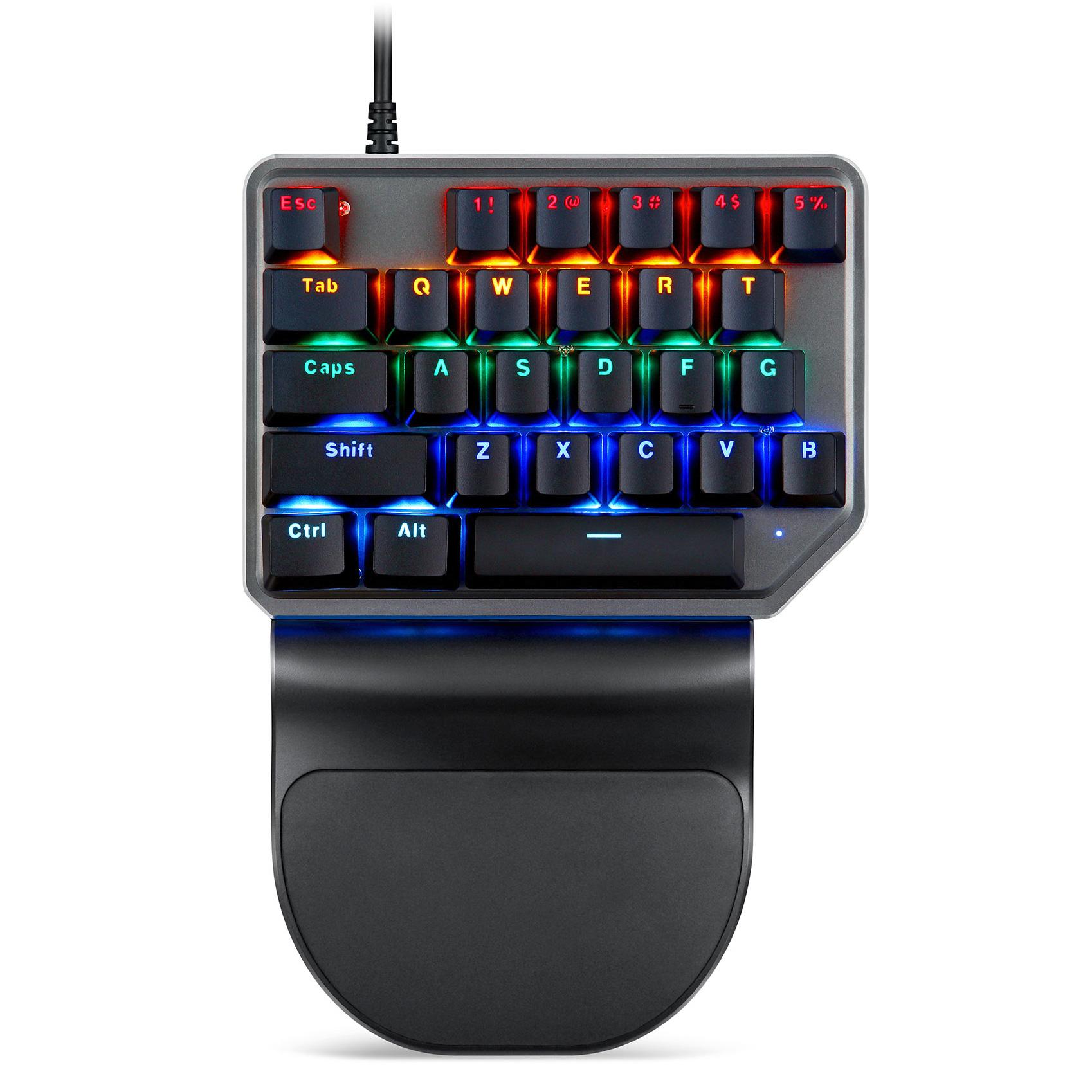Motospeed K27 USB Wired Singlehanded Mechanical Keyboard