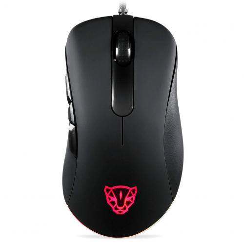 Official MOTOSPEED V100 Dual Engine RGB Gaming Mouse Original 6400 Infrared Light