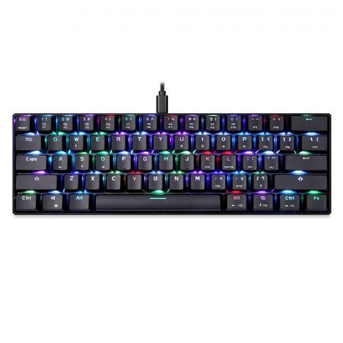 Official MOTOSPEED CK61 NKRO RGB Mechanical Keyboard with Kailh BOX Switch(Dustproof)
