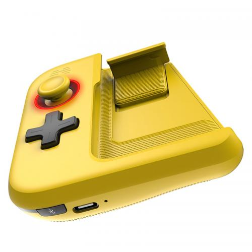 Official BETOP G1 Single Hand Bluetooth Wireless Gamepad Phone Game Controller - Blue & Yellow