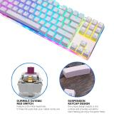 Motospeed K87S RGB NKRO Mechanical Keyboard-White