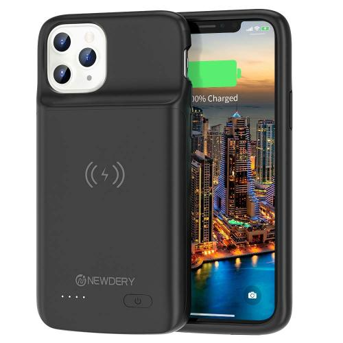Official NEWDERY Wireless Charging Battery Case for iPhone 11 Pro
