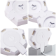 Lifesmart LS160 Creative Geometry Assembly Intelligent Control Panel Light-Milkwhite Heart Style 10Set