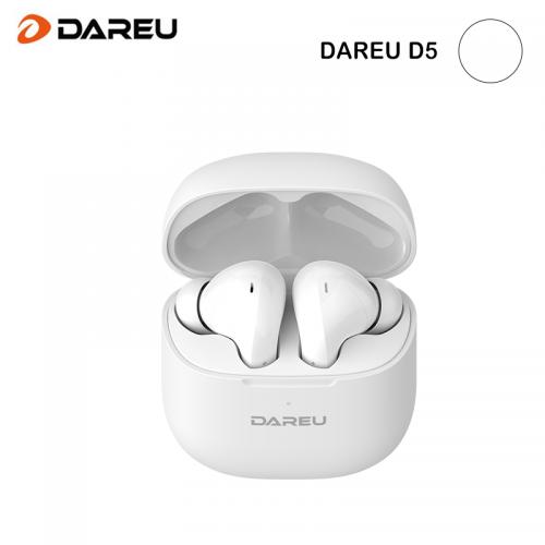 Official Dareu D5 ANC Wireless BT 5.0 IPX4 Waterproof Super Light Long Battery Life Earphone