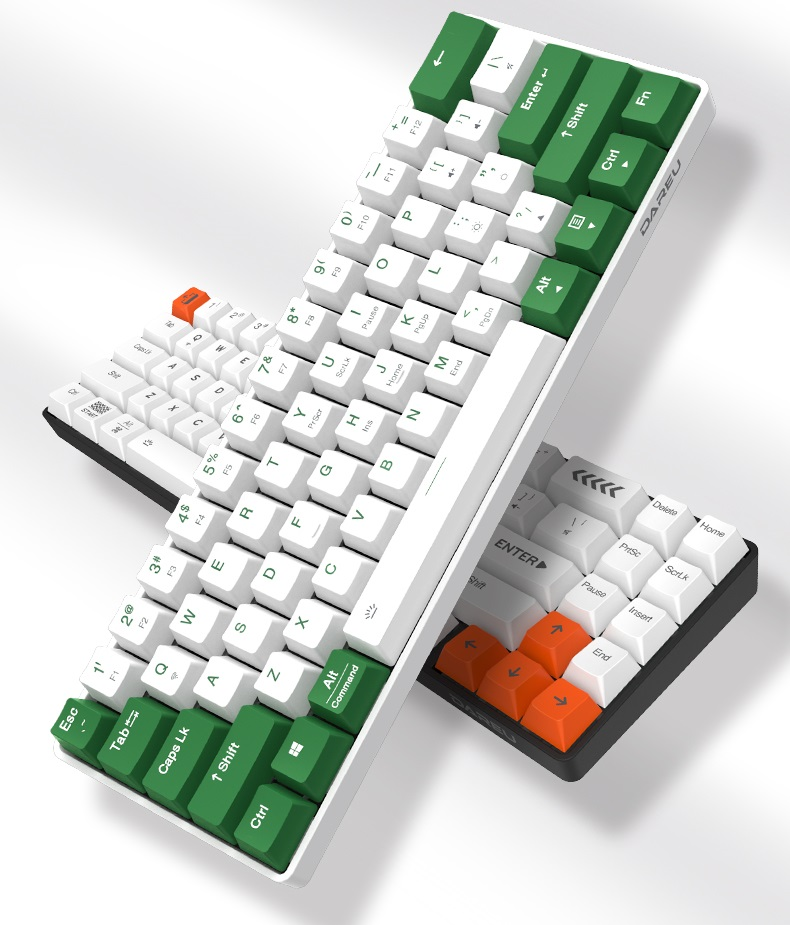 Dareu EK861 BT & Wired dual mode Mechanical Gaming Keyboard
