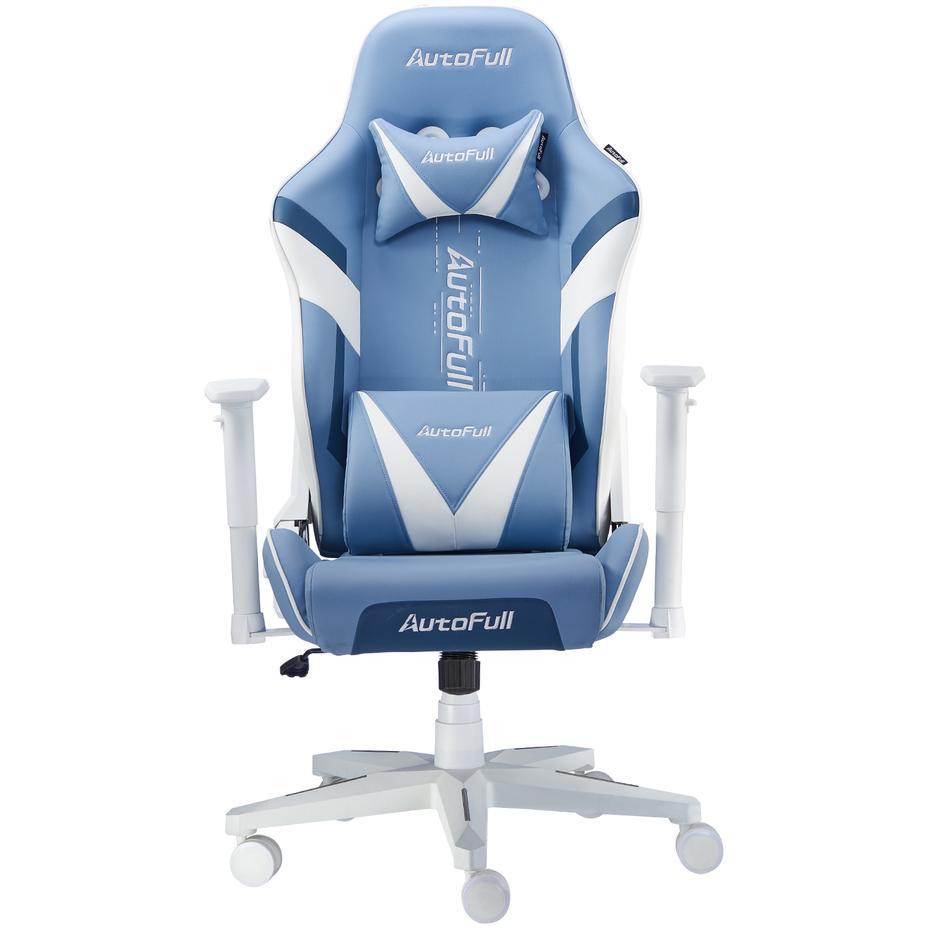 AutoFull Racing Gaming Chair AF077UPU, Blue