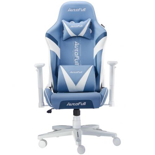 AutoFull Racing Gaming Chair AF077UPU, Blue
