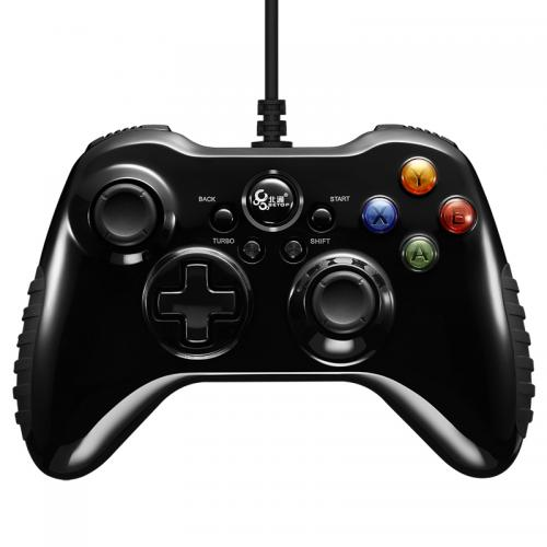 Official Betop BTP-2175S2 Wired Vibration Turbo Gamepad