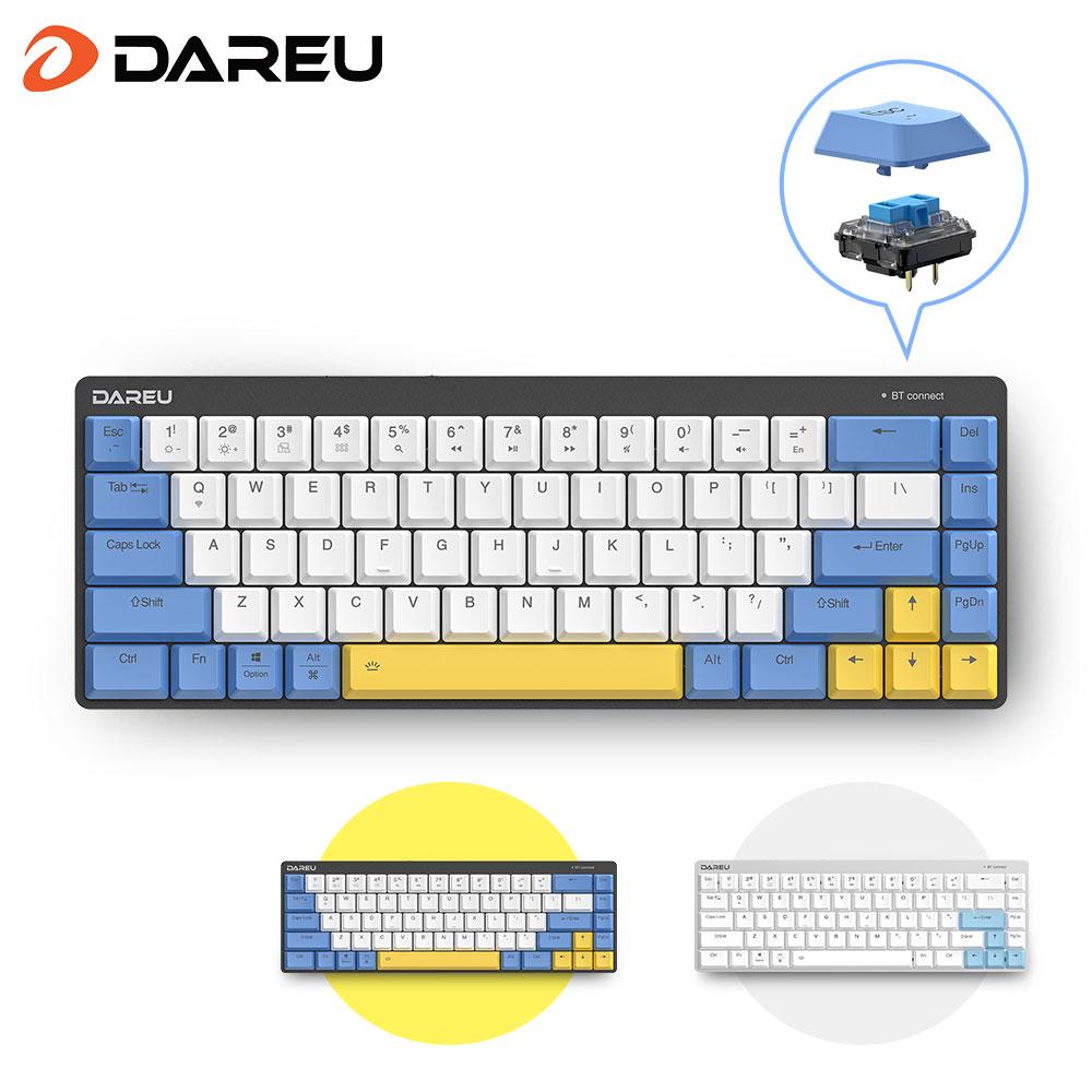 Dareu EK868 Kailh Low Profile Switch Wireless Mechanical Keyboard