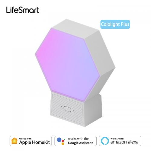Official LifeSmart Cololight Plus LS167 Smart LED Light Panels 16 Million RGB Colors DIY Quantum Light Works with Apple HomeKit Google Alexa