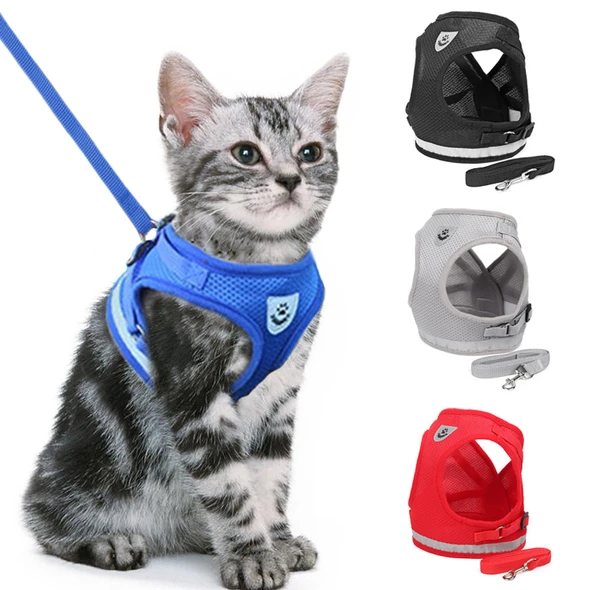 Cat Harness And Leash For Adventure(buy 2 free shipping)