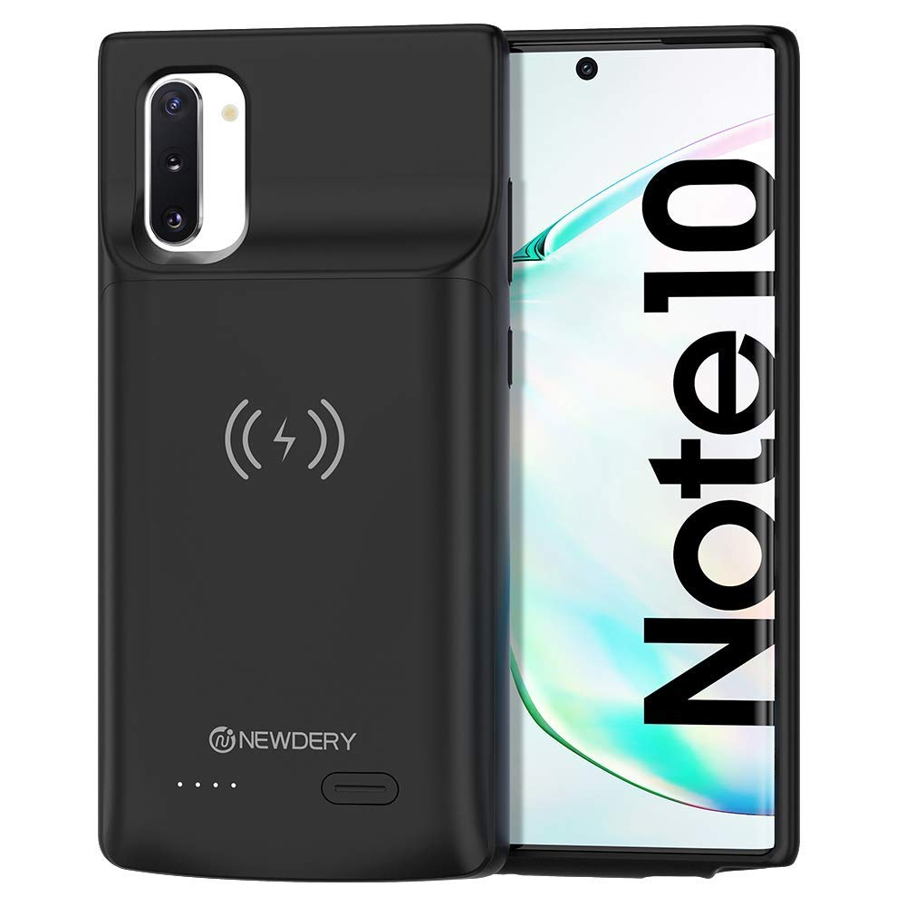 NEWDERY Wireless Charging Battery Case for Samsung Galaxy Note10