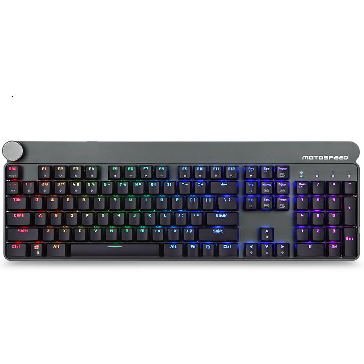 MOTOSPEED GK81 104Keys RGB mechanical keyboard