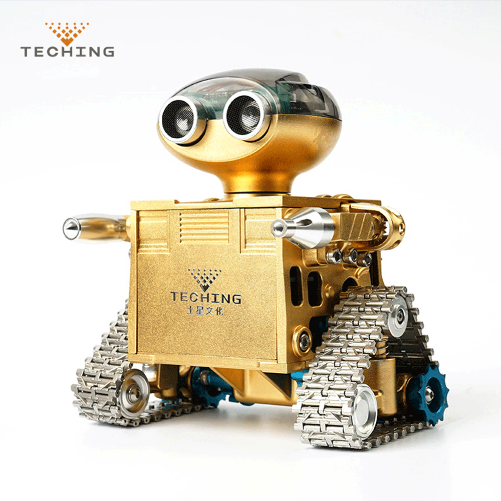 TECHING DM19 DIY Traiblazers 1 Self-assembled APP Control Smart Delicate Robot for Android System