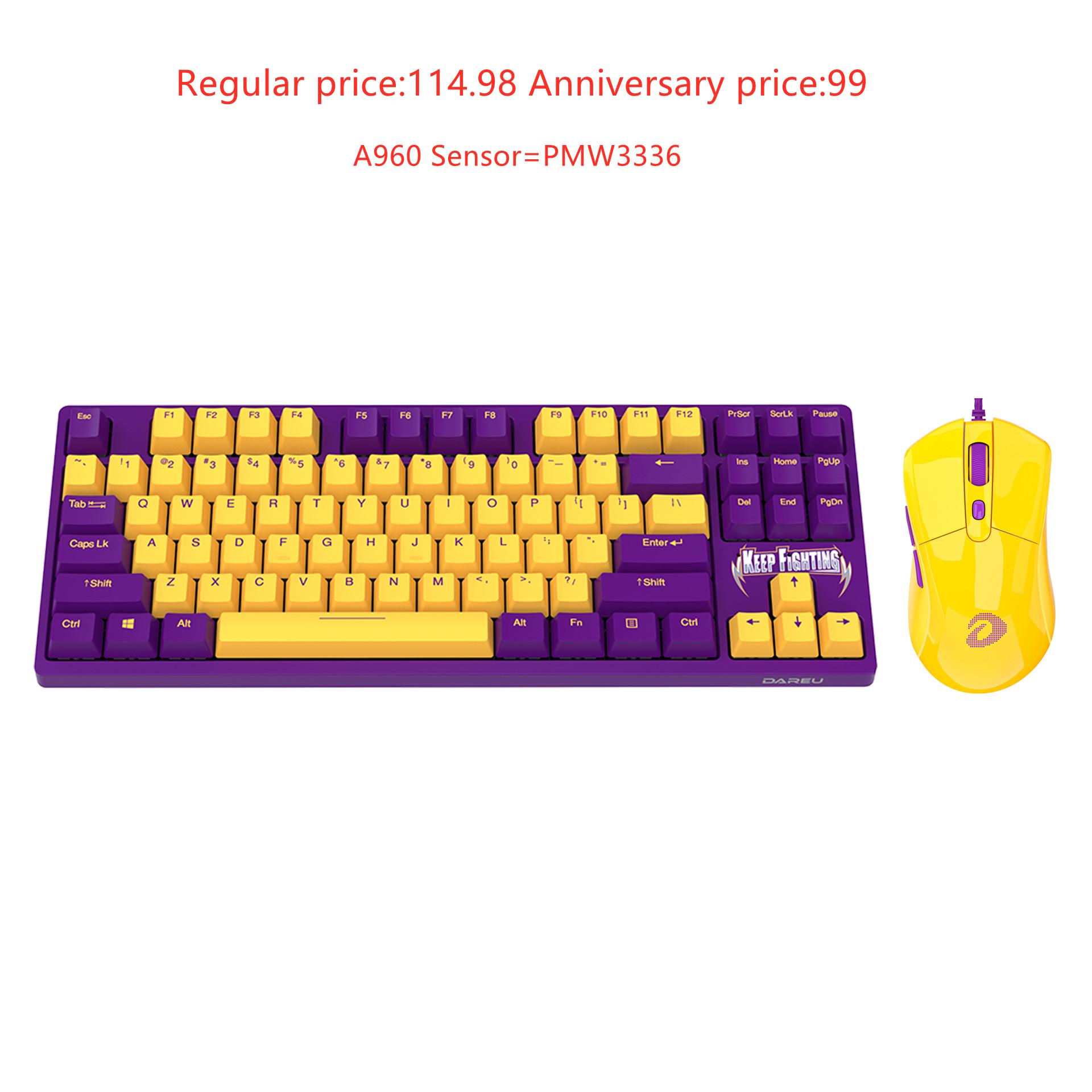 Dareu A87 KB+Dareu A960 Keyboard&mouse Combo