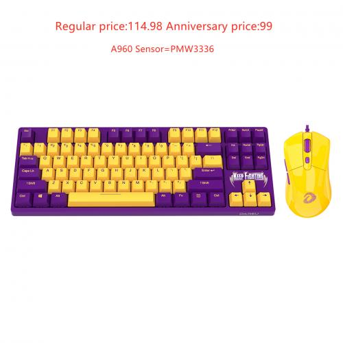 Official Dareu A87 KB+Dareu A960 Keyboard&mouse Combo