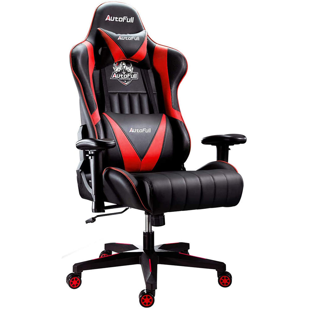 AutoFull Ergonomic Gaming Chair AF070BPU Standard(Red)