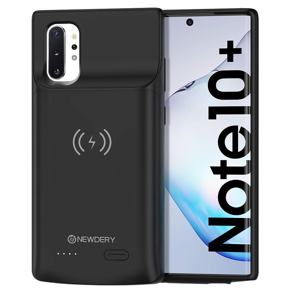 NEWDERY Wireless Charging Battery Case for Samsung Galaxy Note10+