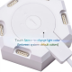 Lifesmart LS160 Creative Smart Geometry Assembling Quantum Light - Milk White 1pc ( without base / USB cable )