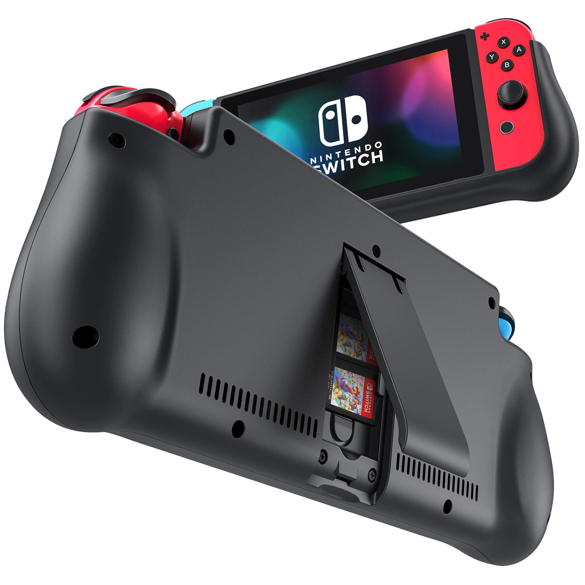 NEWDERY External Battery Station for Nintendo Switch