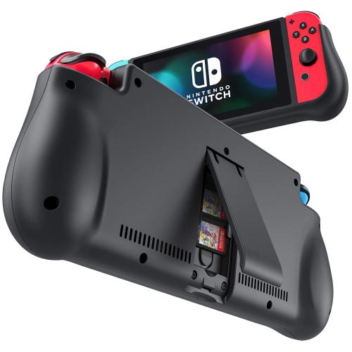Official NEWDERY External Battery Station for Nintendo Switch
