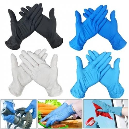 Official Disposable Gloves Latex Dishwashing/Kitchen/Work/Rubber/Garden Gloves Universal