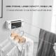 Bzfuture non-porous balcony indoor telescopic stealth clothesline