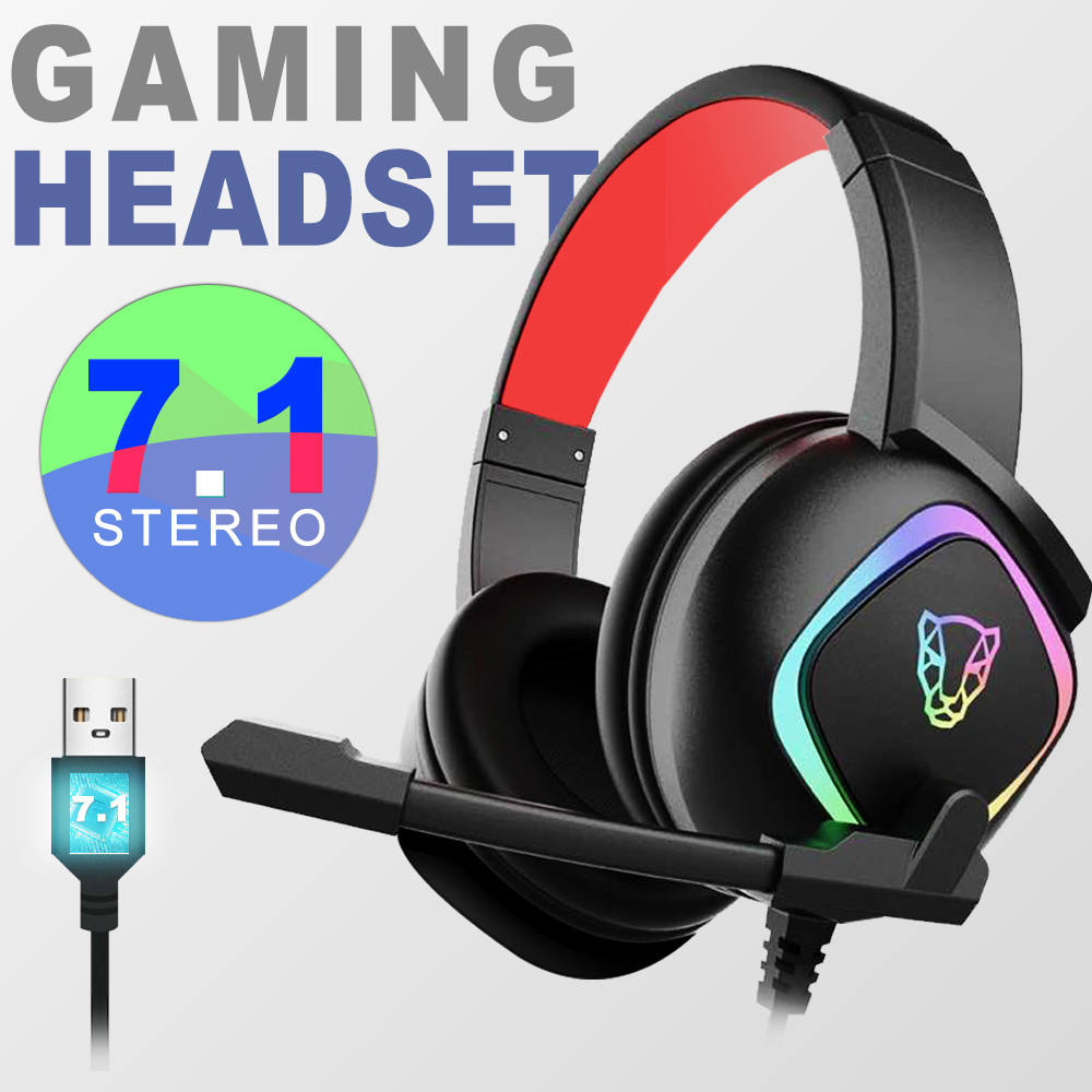 Motospeed G750 Newest 7.1 Channel Virtual Surround Sound Gaming Headset