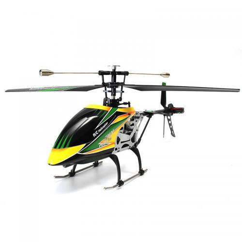 Official WLtoys V912 4CH Brushless RC Helicopter With Gyro RTF - Green