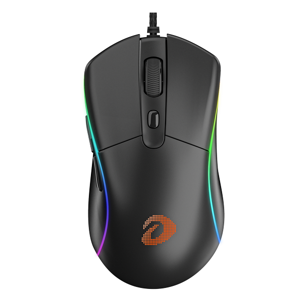 Dareu A960/A960S Gaming Mouse 65g Lightweight LED RGB Backlight Mice with AIM3337 18000/PMW3336 12000 DPI 50 Million Click Times
