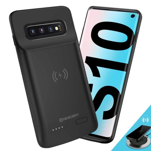 NEWDERY Wireless Charging Battery Case for Samsung Galaxy S10
