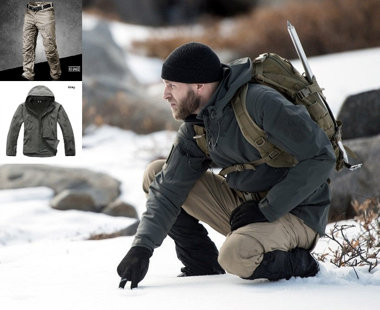Outdoor Tactical Jacket Pants sets