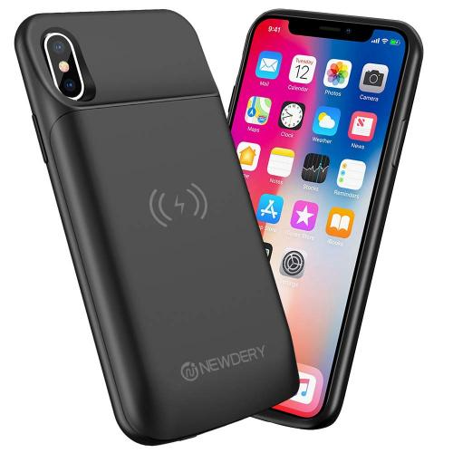 Official NEWDERY Wireless Charging Battery Case for iPhone X/Xs