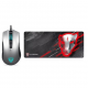 MotoSpeed V70 Mice and mouse mat Pack