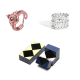 2 in 1 magic ring jewelry and romantic couple ring