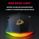 Dareu A970 Gaming Mouse  LED RGB Backlight Mice with AIM3337 18000 DPI 400IPS 12000FPS 50 Million Click Times Programmable Buttons