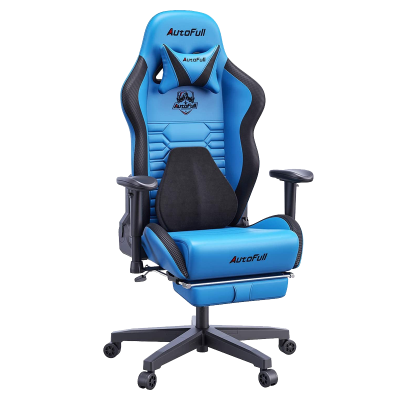 AutoFull Gaming Chair AF083UPJA,Blue
